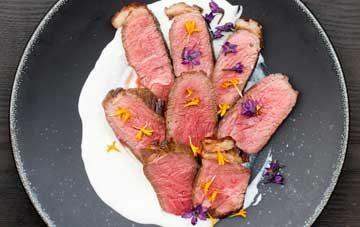 Molho de Alho Beef Coulotte